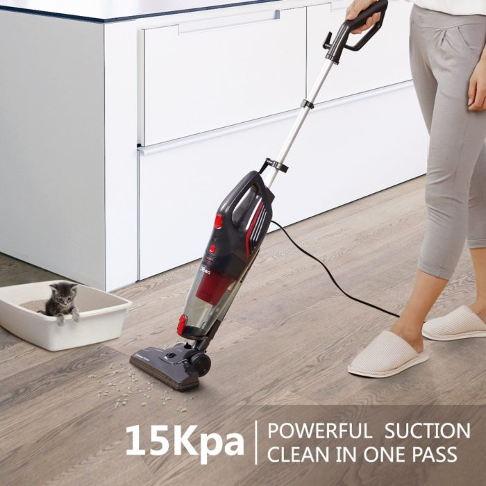 Dibea 600w Corded Stick Vacuum Cleaner
