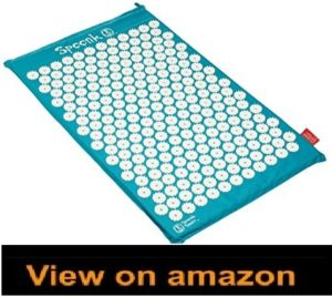 Spoonk Cotton Pagoda Blue Acupressure Massage Mat