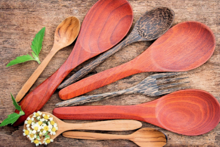 bamboo kitchen utensils