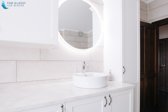LED Front-Lighted Mirror
